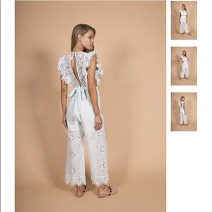 a4689bc6eee Nightcap Pants - Nightcap Clothing Eyelet Apron Jumpsuit